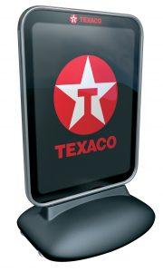 Texaco printed panel
