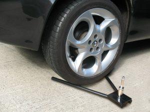 Wheel Base under tyre