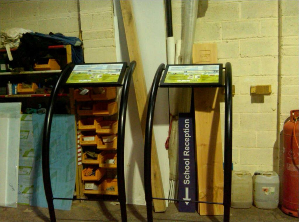 A2 Hooped Lecterns