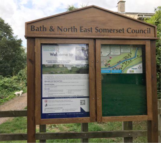 Bath & North East Oak Notice Board