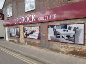 Bedrock Shop Signs