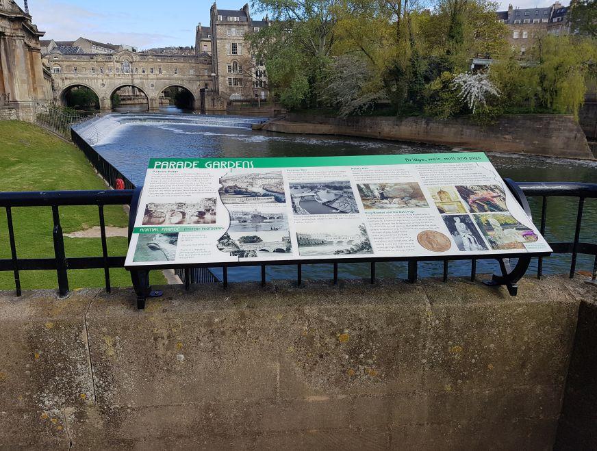 Bath & North East Lectern Wall Railing Fixing