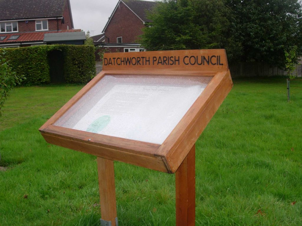 Datchworth lectern case