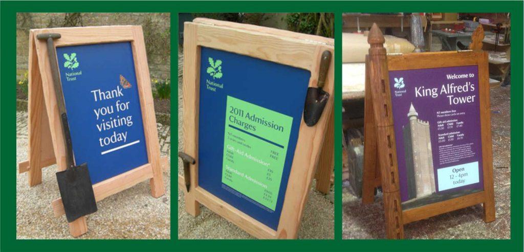 National Trust Buffalo A boards