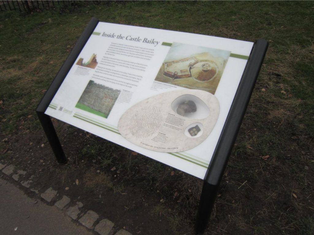 Tamworth Castle with artifact section