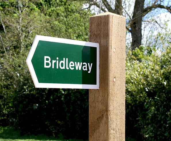 Bridleway Fingerpost