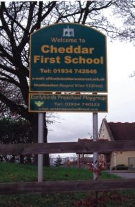 Cheddar first school