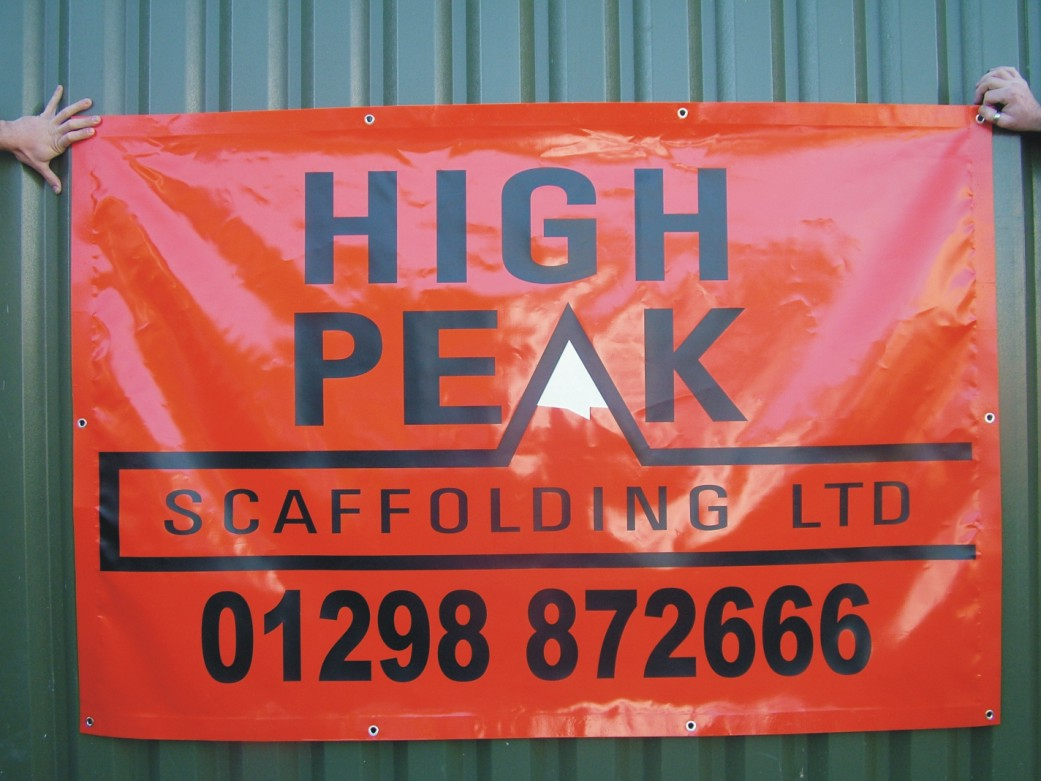 Scaffold Construction Signs