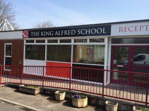 King Alfreds school Somerset